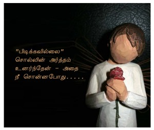 New cartoon describes tamil love